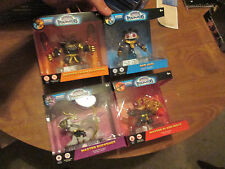 LOT 4 SKYLANDERS IMAGINATORS MASTER CHAIN REACTION BUCKSHOT BAD JUJU + SET RARE