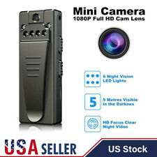 1080P HD Hidden Camera Video DVR IR Night Motion Camcorder Mini Police Body Cam