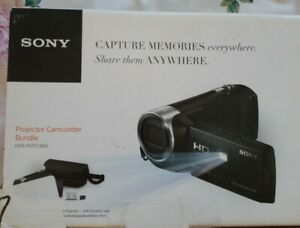 Sony HDR-PJ275/B Video Camera with Built-in Projector (Black) NEW