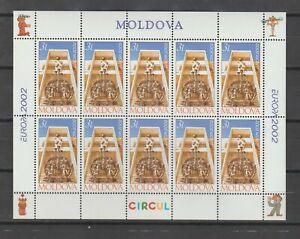 S38628 Moldova Europa Cept 2002 MNH Ms