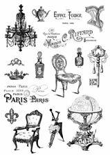 Potch-Motiv-Foto-Transfer-Vorlage-Vintage-Shabby-Paris-french-30055