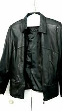 Genuine Leather Womens Jacket Size Small