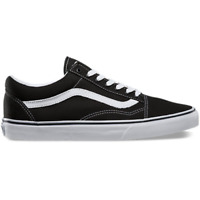 Vans Unisex Old Skool OG Sneaker, Black/ White