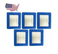 Small Engine Air Filter Cartridge Sten fits Briggs and Stratton 491588 5-pack
