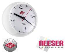 Wesco Küchenuhr mini clock Stylische Uhr mit eingebautem Timer in WEIß 322411-01