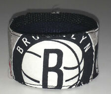 Brooklyn Nets Wristband Bracelet Pro Basketball Team Fan Game Gear NBA Shop Ball
