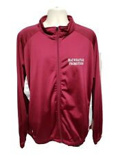 Mayweather Promotions The Money Team Mens Burgundy Long Sleeve 2XL Jersey