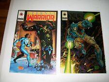 1993 ETERNAL WARRIOR #17 & 1993 X-O MANOWAR #0 (CHROMIUM COVER)