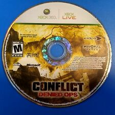 Conflict: Denied Ops (Microsoft Xbox 360, 2008) DISC ONLY 5822