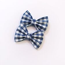 2x Girl Hair Clip Toddler Hair Bow Fabric Bow