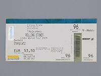 Rolling Stones Original Circus Krone 2003 Tour Ticket in used condition Rare