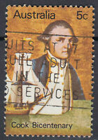 Australien Briefmarke gestempelt 5c Cook Bicentenary  / 30