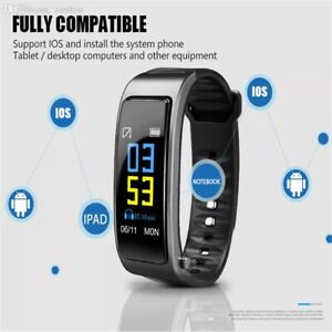 SMART WATCH TOUCH SPORT BRACCIALETTO IOS ANDROID FITNESS