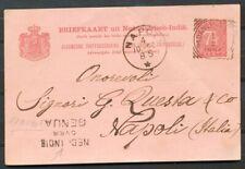 N.I.,ROUTE NED:INDIE OVER GENUA (DELBEKE R100) MET VIERKANT PADANGPANDJANG ZH753