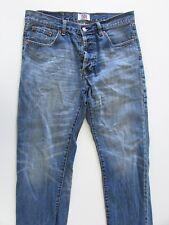 Levi's 501 Original Mens Size 32 L30 Straight Blue Jeans