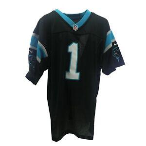 Carolina Panthers Full Stitched NFL Nike Cam Newton Youth Kids Size Jersey New