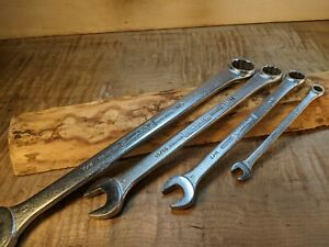 Vintage Williams Superrench Box End 4 Wrenches