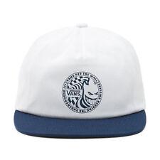 VANS X SPITFIRE SHALLOW UNSTRUCTURED SNAPBACK CAP DRESS BLUE WHITE