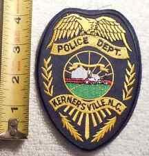 KERNERSVILLE NORTH CAROLINA POLICE PATCH (HIGHWAY PATROL, SHERIFF, STATE)