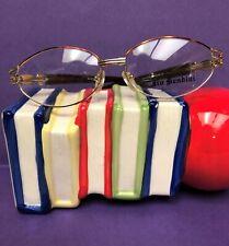 New Vintage Gold JIO BENDINI Eyeglasses Designer Prescription Glasses RX Frame
