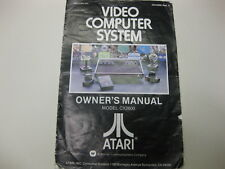 Atari 2600 CX2600 Video Computer System Rev 2 Owner's Manual ONLY 1978