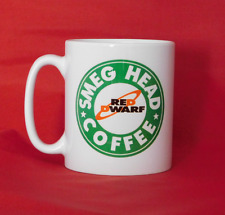 Red Dwarf Smeg Head Starbucks Inspired Coffee Mug 10oz