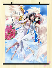"8""*12""Home Decor Japan Anime Sora no otoshimono Cosplay Wall Poster Scroll S02"