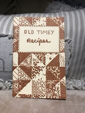 Vintage Old Timey Recipe Book, 1982, West Virginia, Best Cooks In The Mountain
