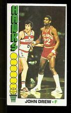 1976-77 Topps John Drew Atlanta Hawks #59 VG