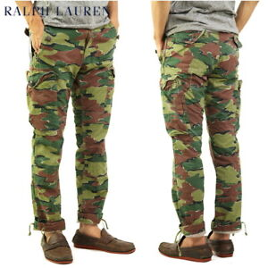 Polo Ralph Lauren Straight Fit Camo Cargo Pants - Camouflage -