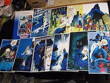 1984 Marvel Press Cloak and Dagger Poster Print Set of 10 Complete Rick Leonardi