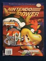 1996 Nintendo Power Magazine Volume #88 September Featuring N64 Super Mario 64