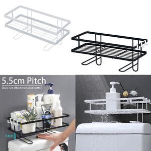 Toilet Storage Rack Bathroom Shelf Holder Organizer Space Saver Stainless Steel