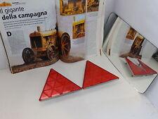Triangolo-CATADIOTTRI Set Rimorchio CATADIOTTRI riflettore a vite