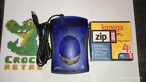 Iomega Zip 250 usb powered et 4 disquettes 250Mb neuves