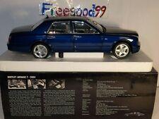 New ListingNew 1:18 Minichamps Bentley Amage T 2004-Beautiful Blue metallic