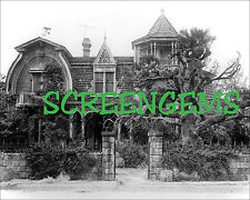 The Munsters house TV archival photo STUNNING large! 16x20 Universal Studios