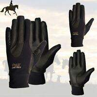 AK Horse Riding Gloves with Super Grip Unisex Equestrian Glove For All Season