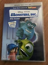 Disney Pixar Monsters, Inc. (2 DVD Set 2002) children's animated Billy Crystal
