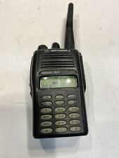 Motorola EX600 XLS UHF AAH38SDH9DU6AN 450-512MHz With Battery