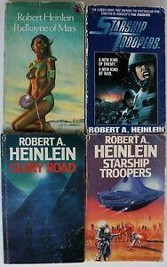 Book - Vintage Sci-Fi & Fantasy Paperback Robert A. Heinlein Collection Job Lot