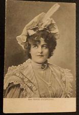 Vintage Film Star Printed Photo Postcard- Miss MARIE STUDHOLME,