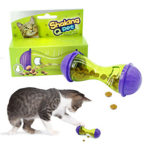 Slimcat Interactive Feeder Cat Toy Puzzle Food Leakage Dispenser Slow Feeder