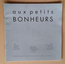 Dossier de Presse AUX PETITS BONHEURS Michel Deville ANEMONE Xavier Beauvois *b