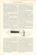Four et Cuisine de Campagne en Clayonnage et Torchis Boulangerie GRAVURE 1885