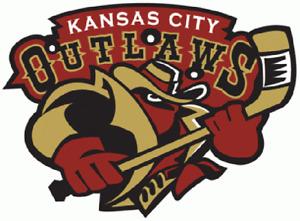 Kansas City Outlaws Defunct UHL Hockey Mens Polo XS-6X, LT-4XLT Missouri New