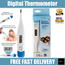 Digital LCD Oral Thermometer Temperature Body Baby Adult Kids Child Ear Mouth UK
