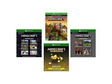 Xbox One Minecraft Full Game, 1K Minecoins, Starter & Creators Pack (Code)