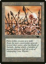 Wall of Spears Antiquities Light Play LP MTG Magic the Gathering