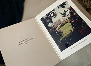 Queen Mother 1978 Christmas Card - Royal Lodge, Windsor